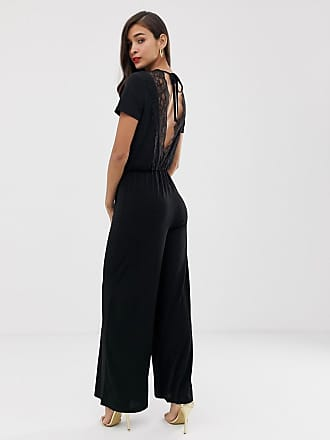 Y.A.S Jaga v-neck jumpsuit - Black