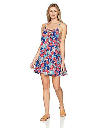 Sunsets Womens Riviera Dress, Flower Bed, Small
