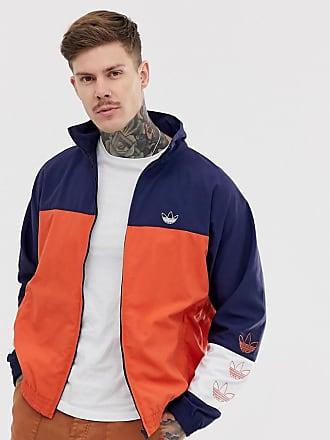 adidas Originals Track Jacket with color blocking in navy - Navy