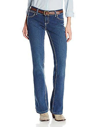 Wrangler Womens Booty Up Low Rise Jean, Antique, 0x34
