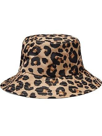 cd5831d1 Loeffler Randall Leopard-print Shell Bucket Hat - Leopard print
