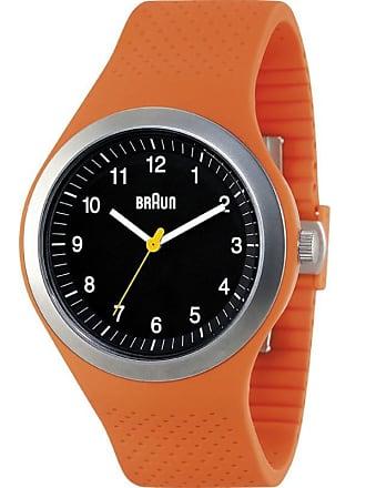 Braun BN0111 Orange Sports Watch   Silicone