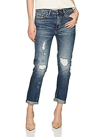 Calvin Klein Jeans Womens Slim Boyfriend Fit Denim Jean, Indigo Hazard, 29