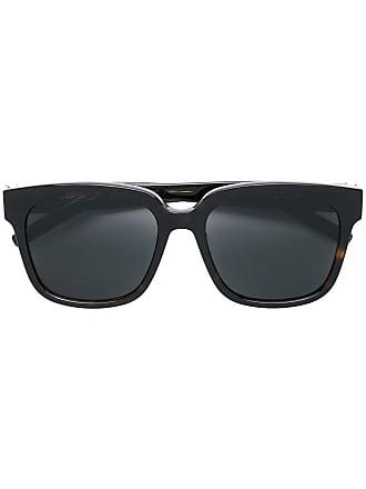 Saint Laurent Eyewear Óculos de sol quadrado - Marrom 01ce99f1b4