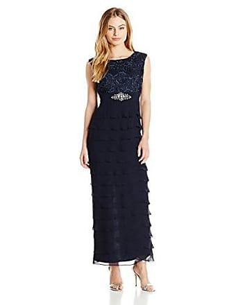 a13689cb4 Jessica Howard Womens Petite Beaded Soutache Gown