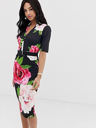 5b95a58216e0 Ted Baker Gilanno magnificant floral bodycon dress