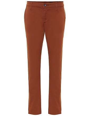 AG - Adriano Goldschmied Caden stretch-cotton crop pants