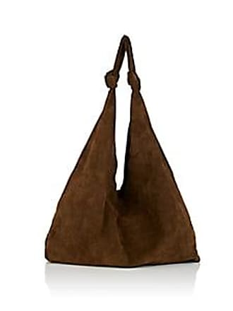 baab8ca091 The Row Womens Bindle Double-Knot Suede Shoulder Bag - Olive
