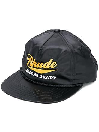 Rhude Boné com logo bordado - Preto