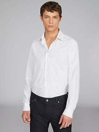 Etro Hemd Aus Organischer Baumwolle Paisley Benetroessere, Herren, Weiß, Größe 40
