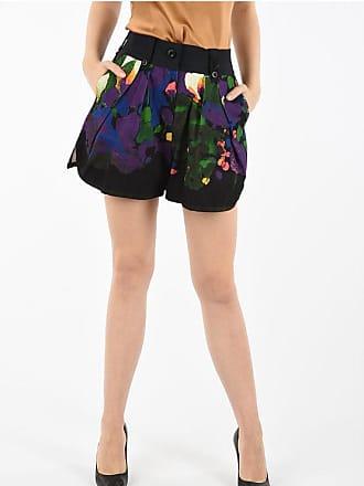 sacai Printed Cotton Shorts Größe 1