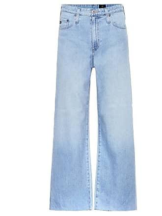 AG - Adriano Goldschmied The Etta cropped wide-leg jeans