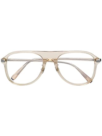 Brioni Armação de óculos aviador - Neutro