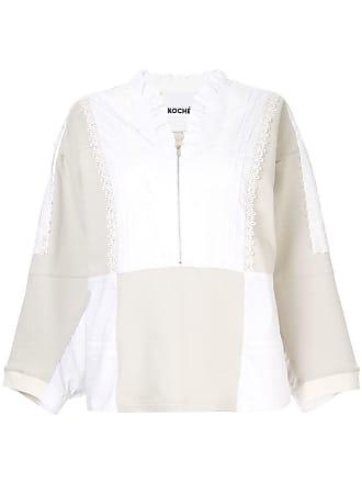 Koché Blusa com babado - Branco