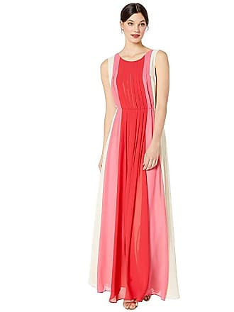 Bcbgmaxazria Long Woven Evening Dress (Corozo) Womens Clothing