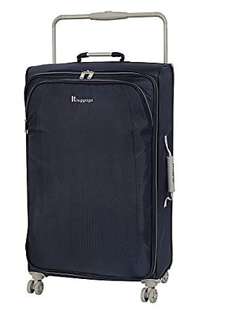 IT Luggage IT Luggage 31.5 Worlds Lightest 8 Wheel Spinner, Evening Blue With Cobblestone Trim