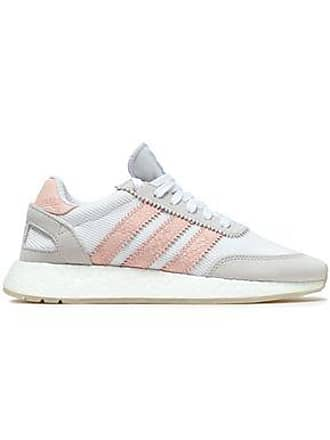 a6b1b9ffe95483 adidas Adidas Originals Woman Ribbed-knit Sneakers White Size 6.5