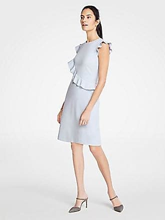 ANN TAYLOR Tall Ruffle Flutter Sleeve Sheath Dress