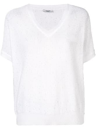 PESERICO Camiseta de tricô - Branco