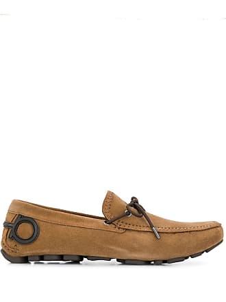Salvatore Ferragamo Atlante driving loafers - Brown
