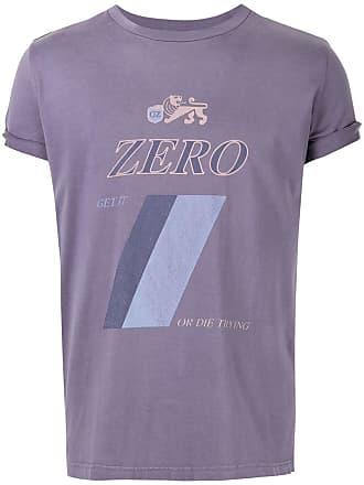 Ground-Zero Camiseta com estampa Zero - Roxo