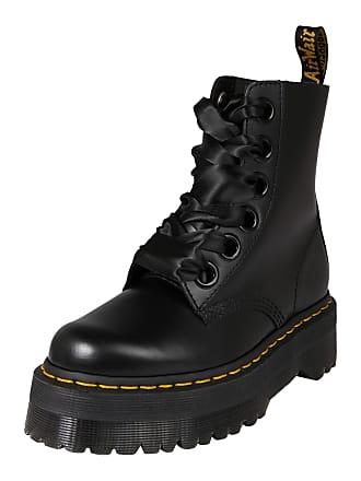ed0ac619ad99cd Dr. Martens Stiefel 6 Eye Lolita Boot Molly schwarz