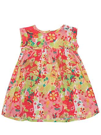 Tip Top Vestido Tip Top Floral Verde/Vermelho
