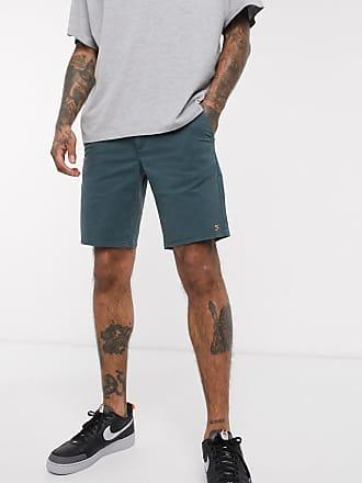 Farah Hawk - Gefärbte Chino-Shorts-Grün
