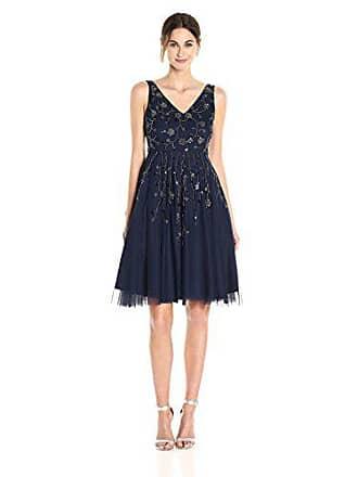 Adrianna Papell AP1E201275-Vestito Donna Blu (Navy AC410) 44(Dimensioni  Produttore  e26a875abf6