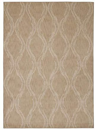 Nourison Rug Squared Wellesley Contemporary Area Rug (WEL02), 7-Feet 9-Inches by 10-Feet 10-Inches, Beige