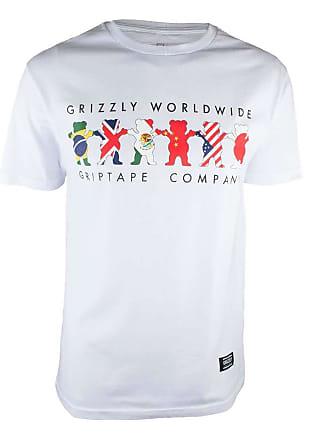 Grizzly Camiseta Grizzly Worldwide Tribe - Branco-G