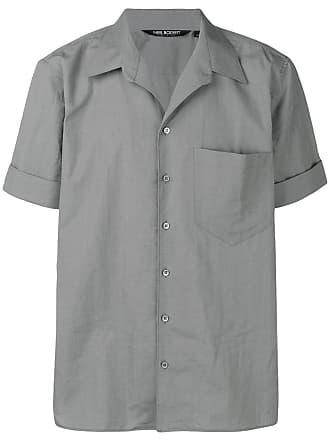Neil Barrett Camisa mangas curtas - Cinza