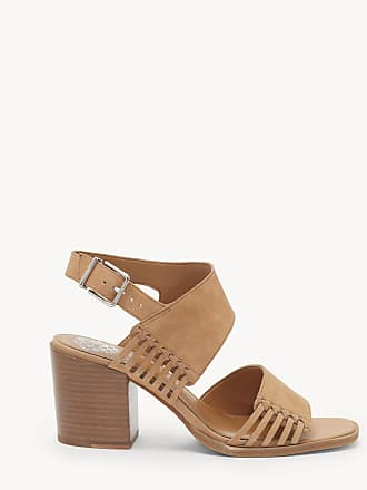 Vince Camuto Womens Karmelo Double Strap Sandals Brick Size 10.5 Leather From Sole Society