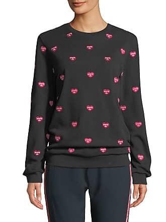 Zoe Karssen Youll Do Embroidered Pullover Sweatshirt