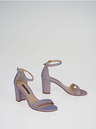 Stuart Weitzman 7 cm Glittered NEARLY Sandals size 35,5
