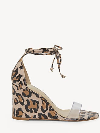 Vince Camuto Womens Stassia In Color: Leopard/clea Shoes Size 8.5 Leather From Sole Society