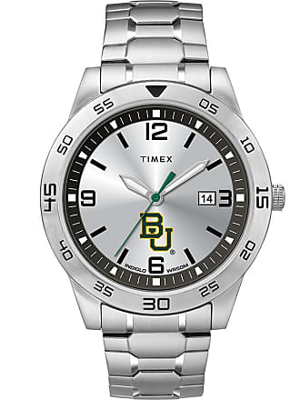 Timex Timex Watch Mens Citation Baylor Bears Silver-Tone/silver-Tone/silver-Tone Item Twzubaymlyz