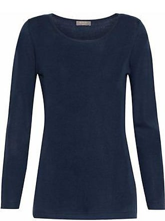 N.Peal N.peal Woman Cashmere Sweater Storm Blue Size XL