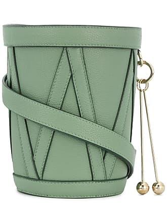 Nina Ricci drum barrel bag - Verde