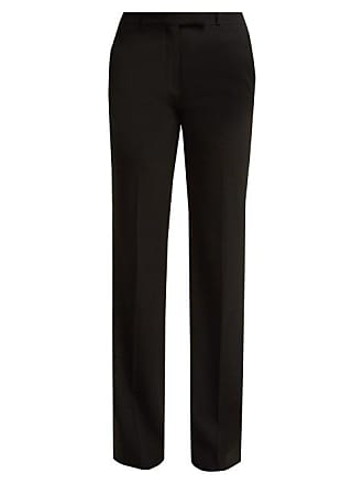 Etro Fuji Crepe Trousers - Womens - Black