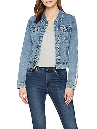 89021e72bb5c Only onlCHRIS LS Tape DNM Jacket BJ Chaqueta Vaquera, Azul Medium Blue Denim,  36