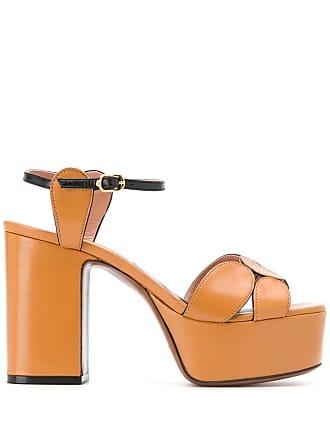 L'autre Chose platform sandals - Brown