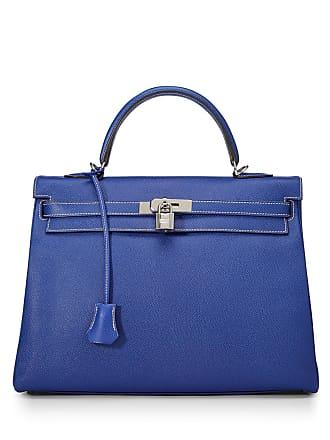 Hermès Candy Kelly Retourne 35 Bag, Blue Electrique