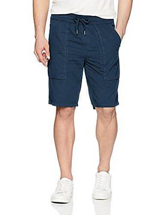 Calvin Klein Jeans Mens POPLIN Utility Short, Atlantis, L