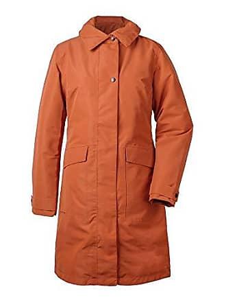 e85c19b1aca15d Didriksons 1913 Laila Womens Coat Leather Brown - Wintermantel,  Größe_Bekleidung_NR:38, Farbe: