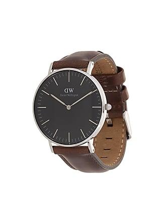 9c16f265565 Daniel Wellington Relógio Bristol de couro - Marrom