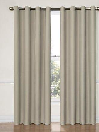Eclipse KOZDIKO Eclipse 12972052095STR Dane 52-Inch by 95-Inch Grommet Blackout Single Window Curtain Panel, String