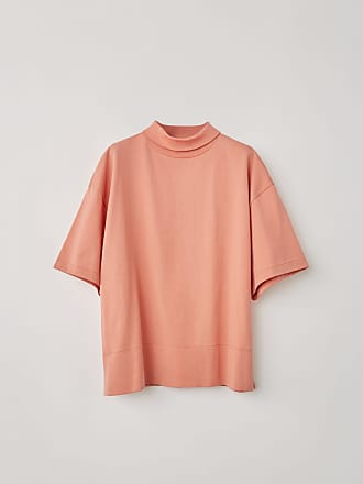 Acne Studios FN-WN-TSHI000008 Old pink Mock neck t-shirt