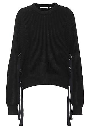 Helmut Lang Embellished cotton sweater