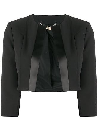 Liu Jo fitted cropped jacket - Black